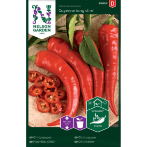 "Chilipeppar ""Cayenne Long Slim""