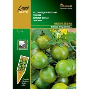 Tomat green zebra