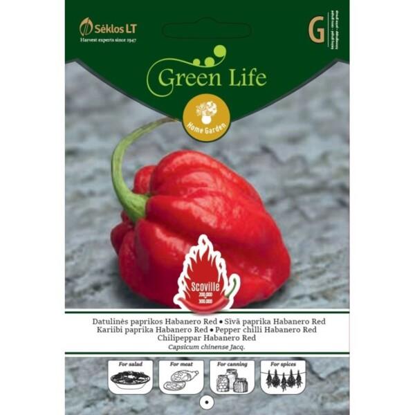 Chilipeppar habanero red